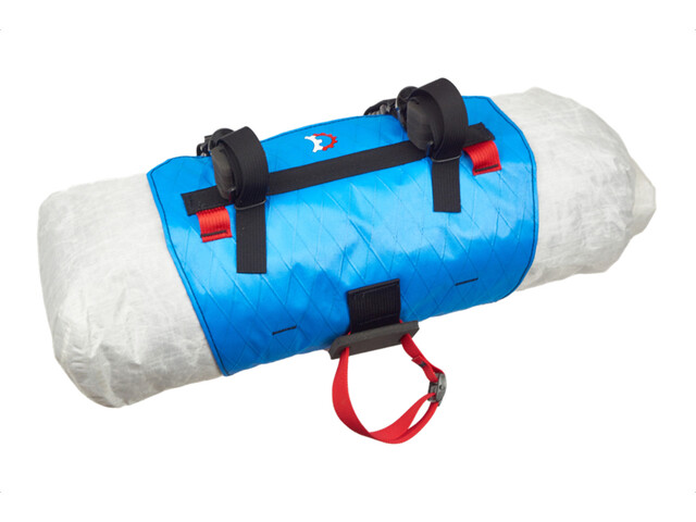 Revelate Designs Pronghorn S Bolsa Manillar incl. Bolsa Impermeable 23l, blue/white